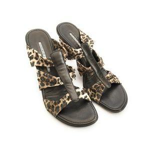 Donald J. Pliner Jass Strappy Slip On Sandals 7.5M